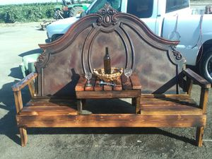 Rustic style bench for Sale in Fowler, CA