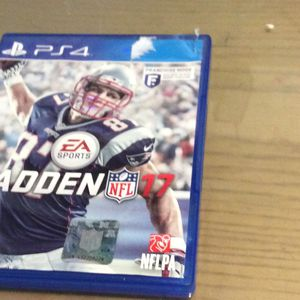 Ps 4 Madden NFL 17 for Sale in Hialeah, FL