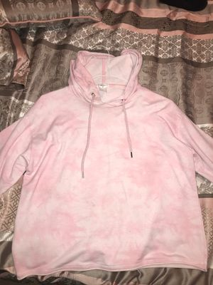 Light washed pink hoodie size medium (forever 21) for Sale in Anaheim, CA