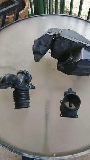 03 Nissan Sentra ser OEM Mass airflow sensor and OEM air filter box assembly. Best offer for Sale in Bulverde, TX