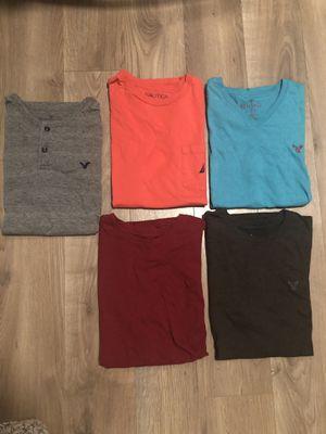 Guys American Eagle & Nautica T-Shirts - Size Medium for Sale in Palm City, FL