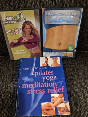 Workout DVD's & book for Sale in Rocky Hill, CT