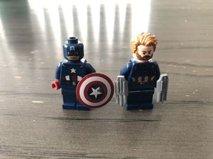 Captain America before and after LEGO for Sale in Orange, CA