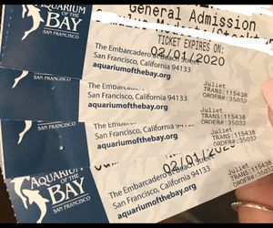 4 tickets to Aquarium of the Bay $50 or best offer. Must be used by 2/1/20 for Sale in Stockton, CA