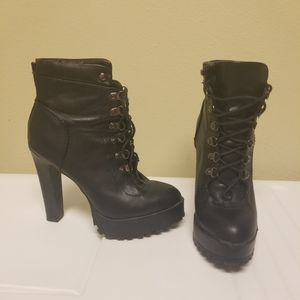 Just Fab heel boots size 6.5 for Sale in Auburndale, FL