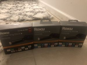 Roku Streaming Stick Plus for Sale in Gaithersburg, MD