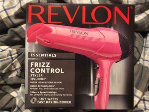 Revlon frizz control hair dryer. for Sale in Riverdale, IA