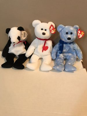 TY Beanie Babies - 3 Bears for Sale in Delaware, OH