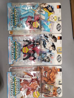 #Complete Collection# Marvel Comic's Alpha Flight Action Figures Lot for Sale in Centreville, VA