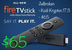 Amazon firestick fully loaded for Sale in Novi, MI