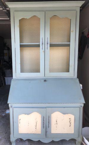 Hutch, desk, cabinet for Sale in Houston, TX
