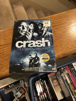 Crash The Complete First Season DVD Brand New Factory Sealed one 1 tv series s1 starz for Sale in Buena Park, CA
