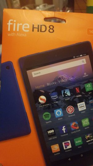 Fire HD8 amazon tablet for Sale in Denver, CO