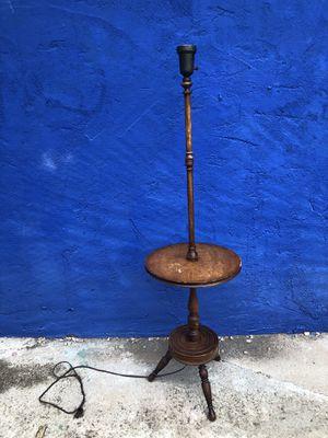 Antique Vintage Ferguson Bros Mfg Hoboken NJ End Table Lamp 30s 40s 50s for Sale in Philadelphia, PA