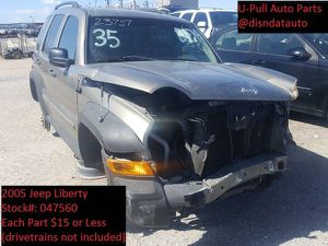 2005 Jeep Liberty @ U-Pull Auto Parts 047560 for Sale in Las Vegas, NV