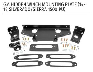 GM hidden winch mounting plate (15-18 Silverado/ Sierra 1500 for Sale in INTRCSION CTY, FL