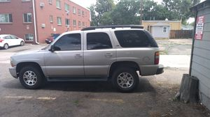 2005 Chevy Tahoe Z71,. 4WD, 5.3 vortec. Must drive to appreciate, rides like it's brand new. Viper remote alarm also remote start.Bose Speakers. for Sale in Brighton, CO