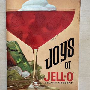 Vintage Joys Of JELL-O Recipe Book, 5th Edition for Sale in San Diego, CA