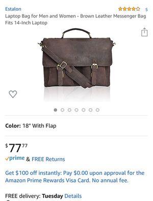 Escalón laptop bag for men & woman for Sale in Long Beach, CA