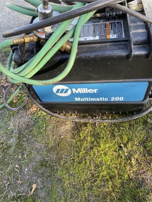 Miller multimatic 200 welder for Sale in Tacoma, WA