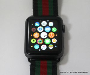 Apple Watch Sport 42mm Space Gray 1st Gen MJ3T2LL/A for Sale in Lauderdale Lakes, FL