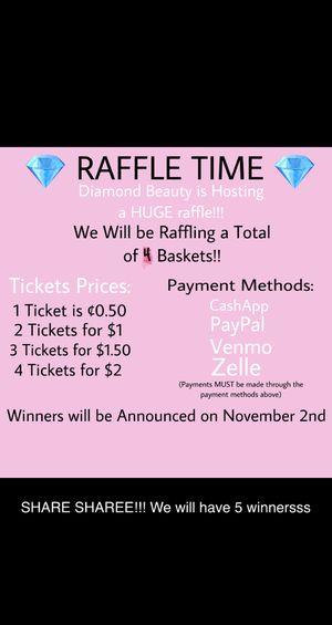 Raffle Tickets for Sale in Oak Lawn, IL