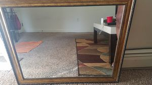 Black and gold wall mirror for Sale in Harrisburg, PA