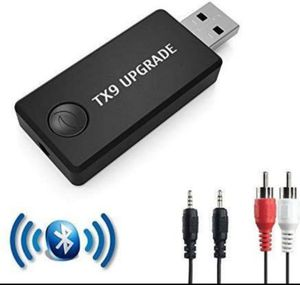 Bluetooth Transmitter, Wireless 3.5mm Music Adapter(A2DP Low Latency for Sale in Fontana, CA