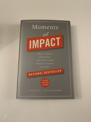 Moments of Impact Book for Sale in San Mateo, CA