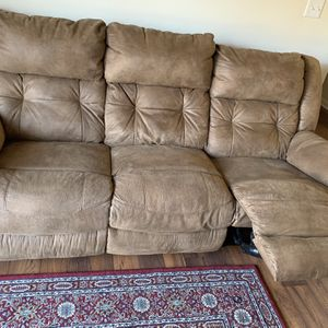 Recline Couch for Sale in Raleigh, NC