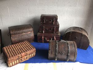 Boxes, chests, baskets for Sale in West Palm Beach, FL