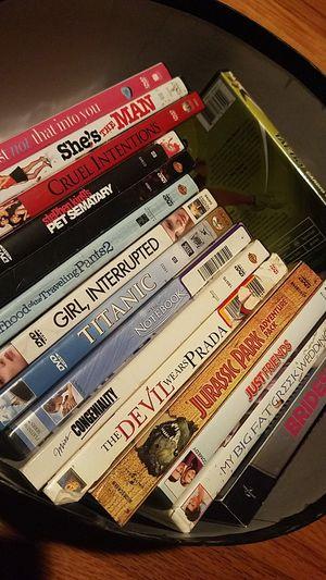 Dvds. Romance, classics collection for Sale in Stockton, CA