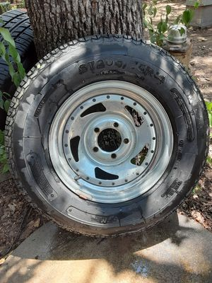 """Trailer tire with rim 14"""" for Sale in Fort Worth, TX"""