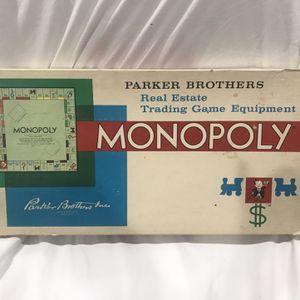 Vintage Monopoly Game for Sale in Phoenix, AZ