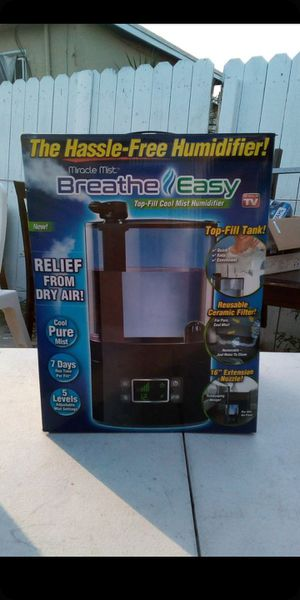 Breathe easy humidifier ultra cool mist for Sale in Compton, CA