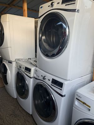 Washer and dryer Whirlpool Front Load electric dryer with 3 months warranty free Delivery installation<<<hablo español for Sale in Oakland, CA