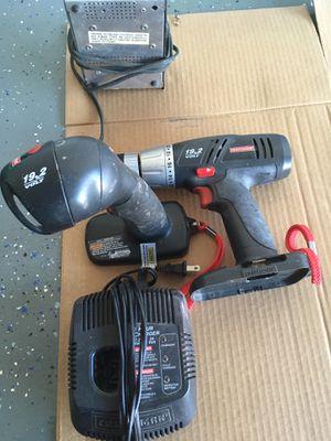Craftsman 19.2 volt DrillFlash light charger for Sale in Peoria, AZ