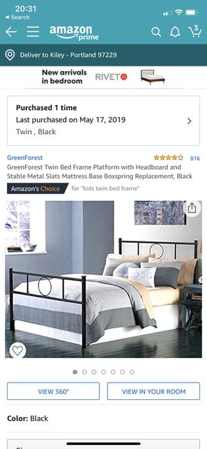 Twin bed frame for Sale in Beaverton, OR