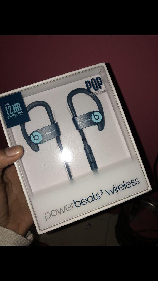Powerbeats 3 Wireless Pop Collection , Pop-Blue