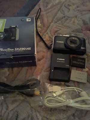 Canon SX230 HS digital camera...bose companion 3 series 2....panasonic DMC camera for Sale in San Antonio, TX