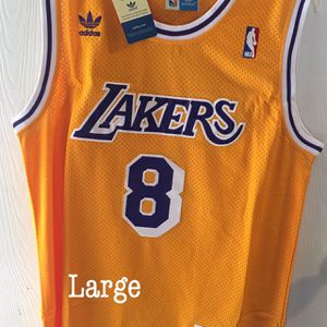 Lakers Kobe Bryant Stitch Jersey for Sale in Ontario, CA