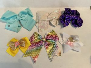 Six Hair Bows JoJo, Mermaid & Ballerina for Sale in Temple City, CA
