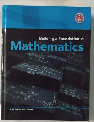 Libro de matemáticas. Building a fundación I'm Mathematics for Sale in Miami, FL