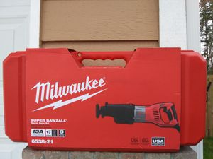 Home    Tools    Power Tools    Saws    Reciprocating Saws    Internet #202101594 Milwaukee 15 Amp 1-1/4 in. Stroke Orbital SUP for Sale in Lake Stevens, WA