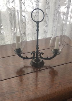 Brass French Candelabra- 0ne Piece ( Holds 2 Candles) for Sale in Los Angeles,  CA
