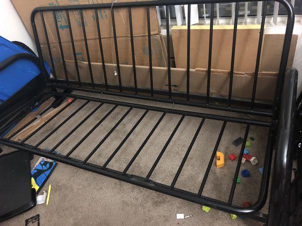 Twin bed cum sofa frame