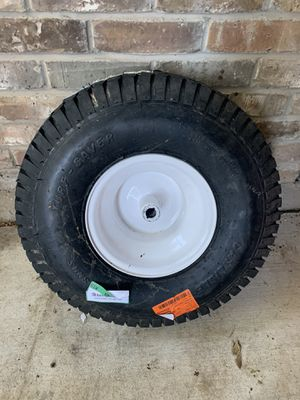 20 in. x 8 in. Rear Tractor Wheel for John Deere, Ariens, Husquvarna and Poulan Pro Lawn and Garden for Sale in Plano, TX