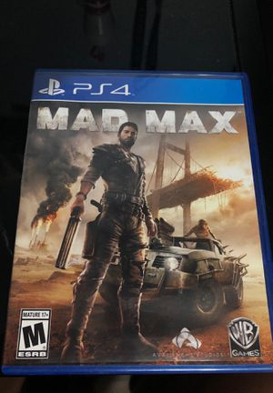 Mad Max video game (ps4) for Sale in Pace, FL