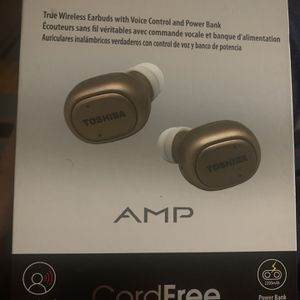 Toshiba Amp Bluetooth Earbuds for Sale in Hyattsville, MD