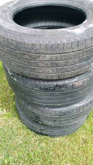 Set of used Michelin tires for Sale in Bear Lake, MI